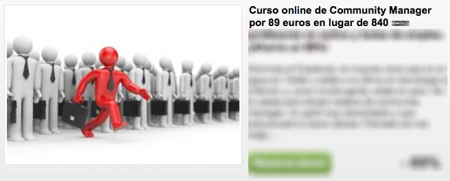 cupon curso community manager
