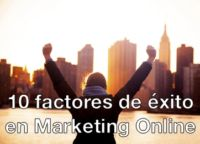 factores de éxito en marketing online